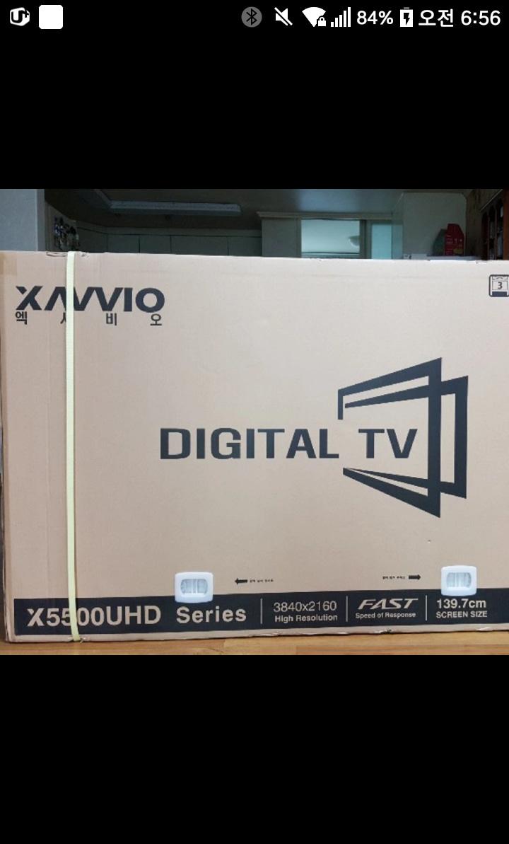 LED..55인치 TV (고장난 부품용 LEDTV 55인치)