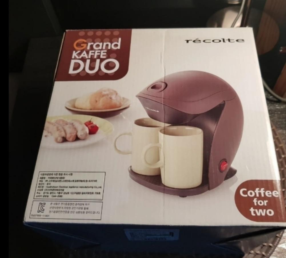커피 메이커 2컵용(그랜드 카페듀오)