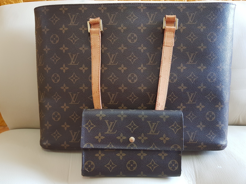 (정품)루이비통 가방+지갑 세트
