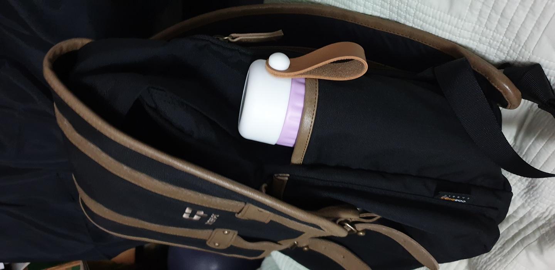 센터폴 가방입니다.