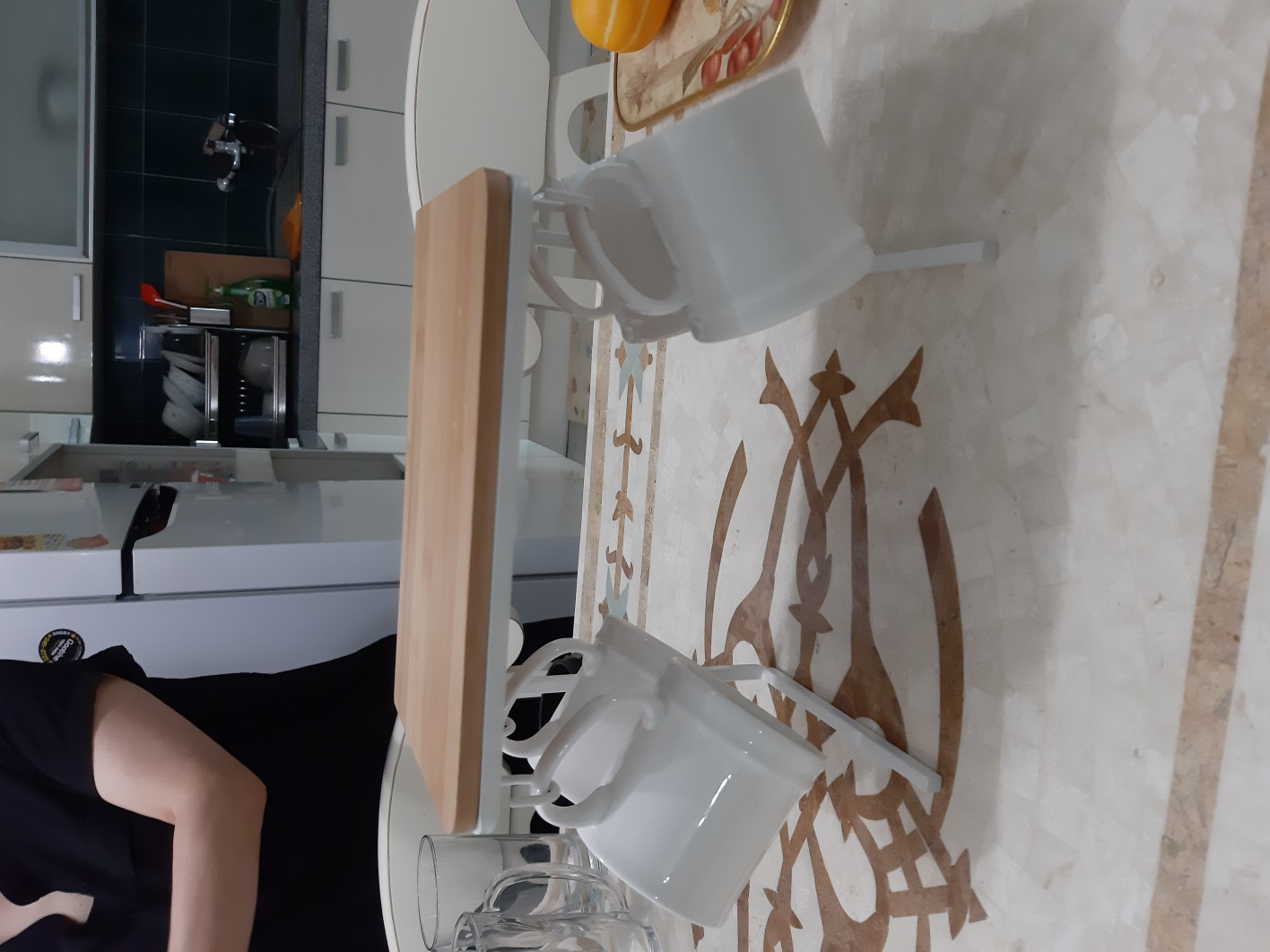 컵걸이와 컵장식