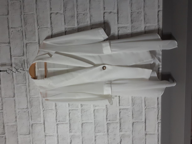 (새옷)쉬폰 루즈핏 여름 카라쟈켓 55-66