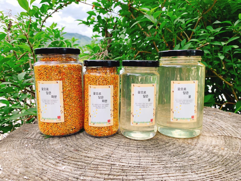 국내산 아카시아꿀/생화분(천연식품)