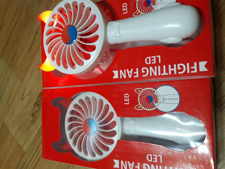 LED 핸디선풍기(화이트) 새상품입니다.