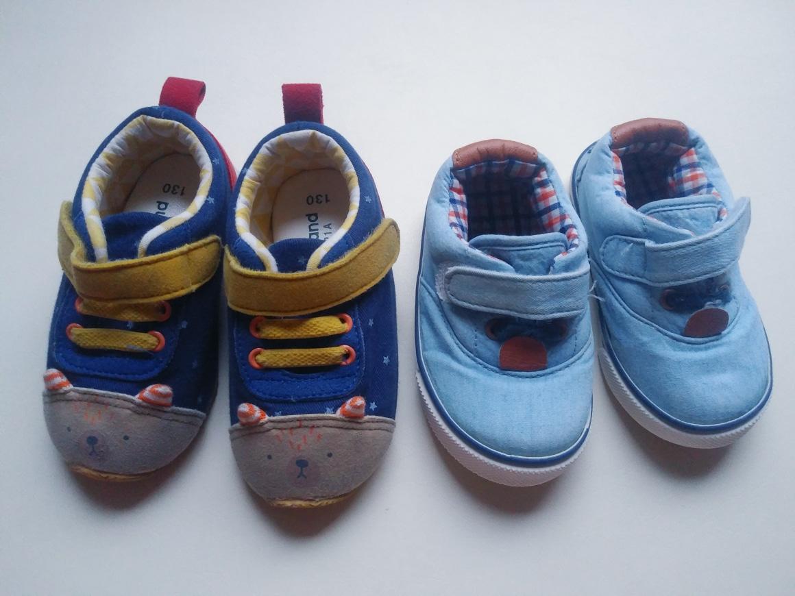 유아 신발 2켤레(130 사이즈)