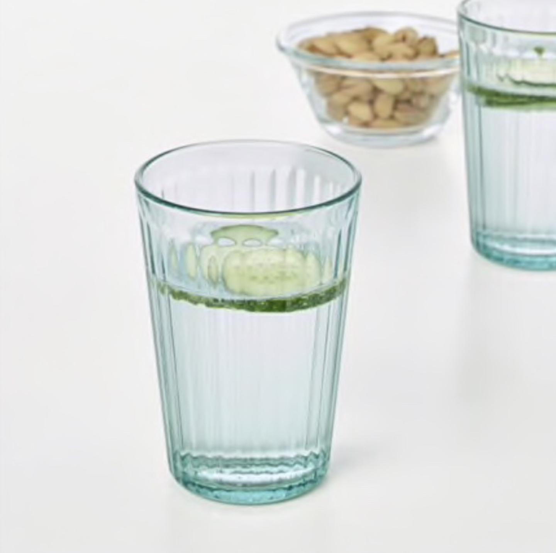 이케아 IKEA KALLNA 칼나유리컵