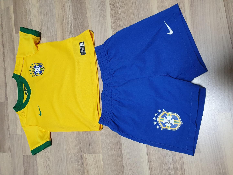 나이키 키즈 브라질 유니폼(75cm)