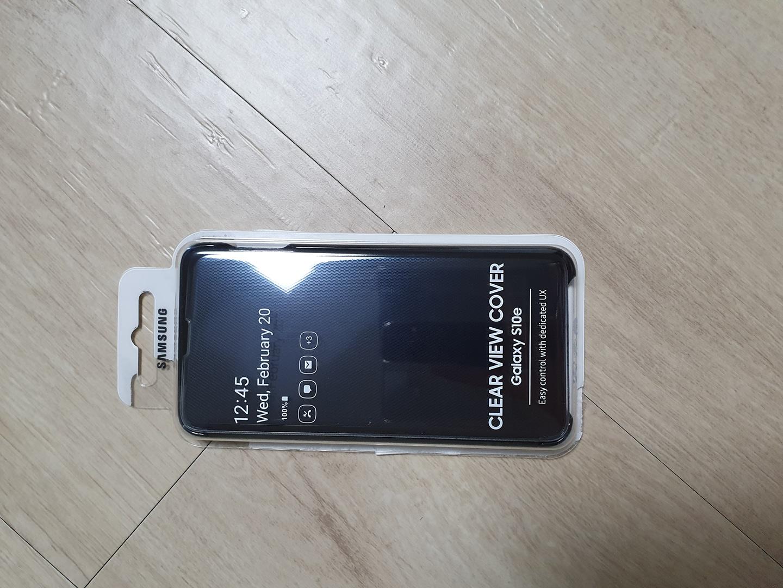새제품)갤럭시S10 e 클리어폰케이스 삼성정품