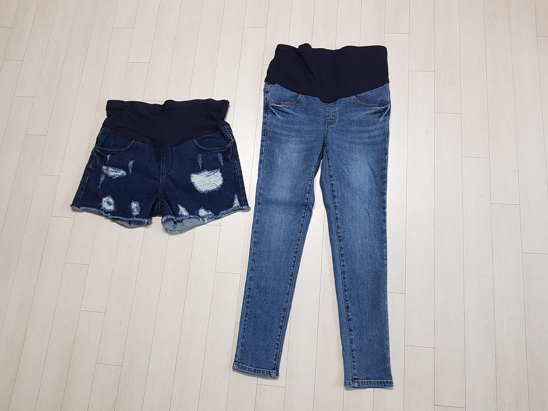 임산부옷 임부복 임산부청바지 청반바지