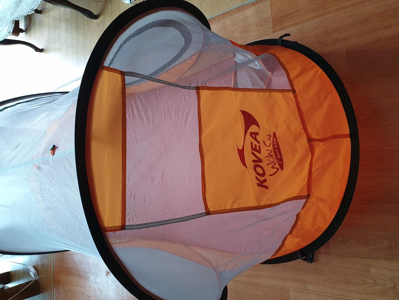 코베아 와우코트(모기장텐트) 2초 원터치 텐트 팝니다