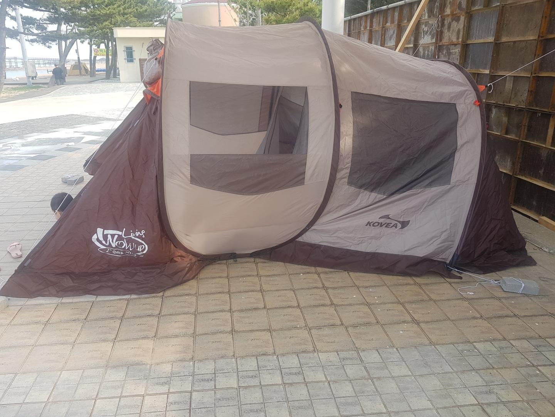 텐트 코베아 와우 리빙 2  판매합니다