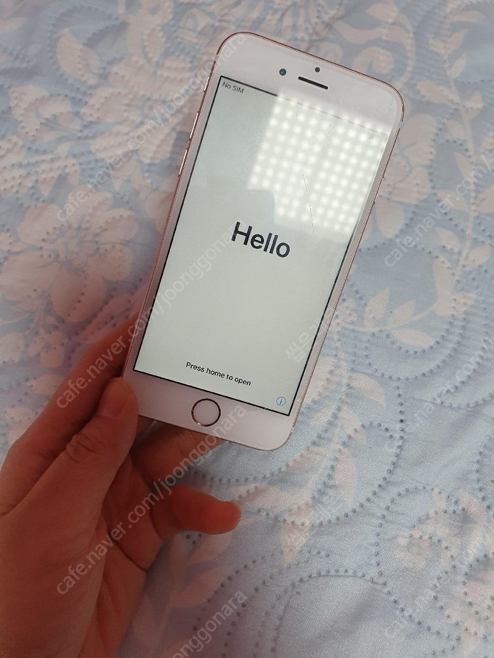 아이폰6s 로즈골드 128기가(부산어디든직거래가능+풀박)