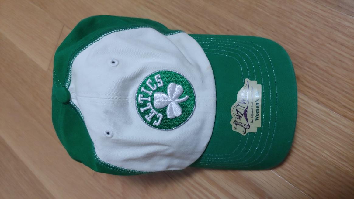 (새제품) NBA Boston Celtics 여성 & 어린이 캡 모자 정품