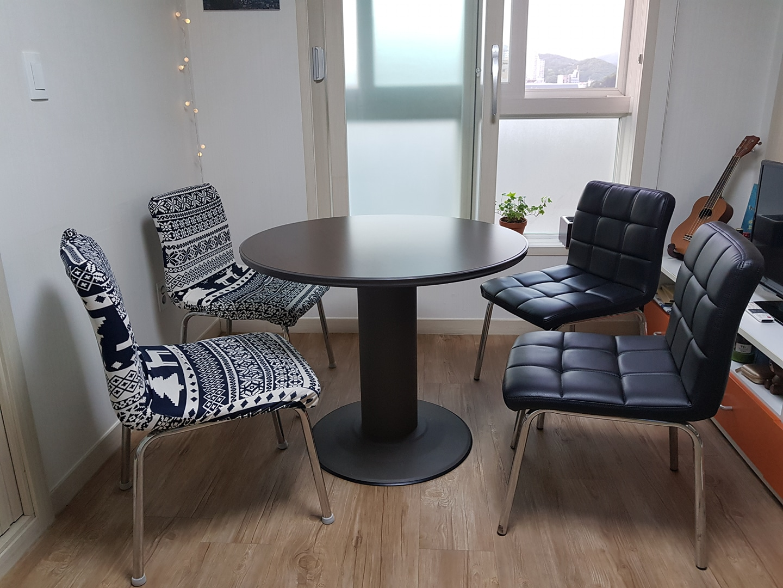 테이블+의자 세트 (식탁. 식탁의자)