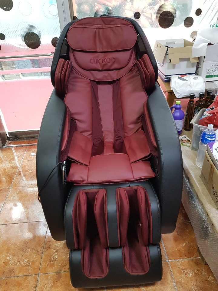 쿠쿠안마의자 단순개봉 새재품판매해요