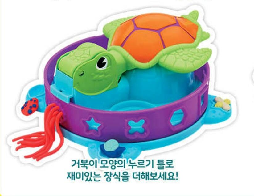 플레이도우 거북이 틀 판매합니다