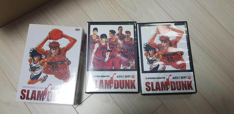 슬램덩크 소장용 DVD 팝니다.