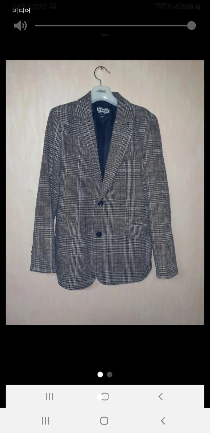 슬림핏 재킷