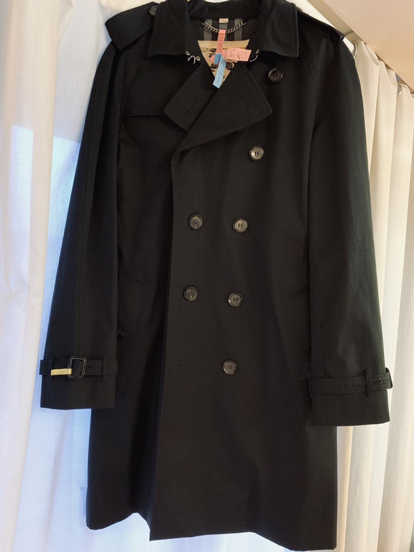 남성 버버리 런던 트렌치 코트 미착용 새옷