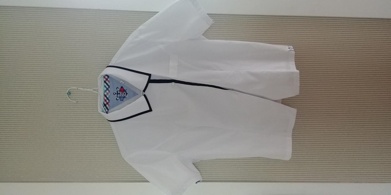 이매고 여학생 하복 블라우스 +긴팔와이셔츠