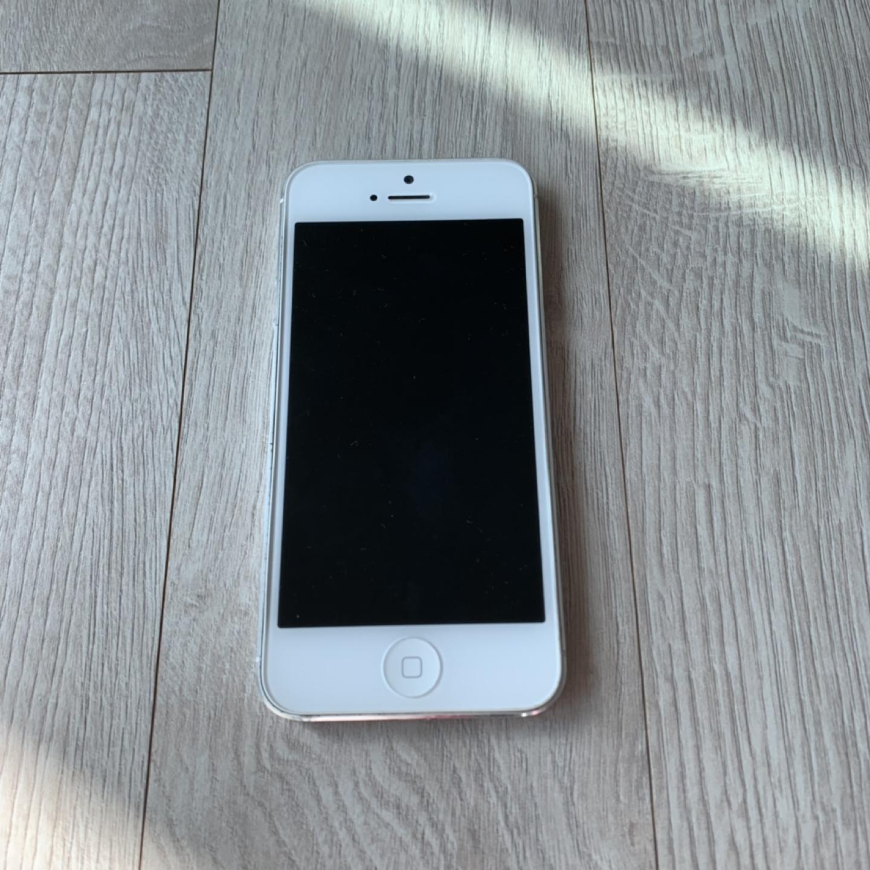 아이폰5 16G 실버