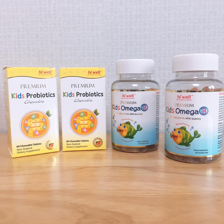 조카선물 키즈 유산균, 오메가3 뉴질랜드 영양제