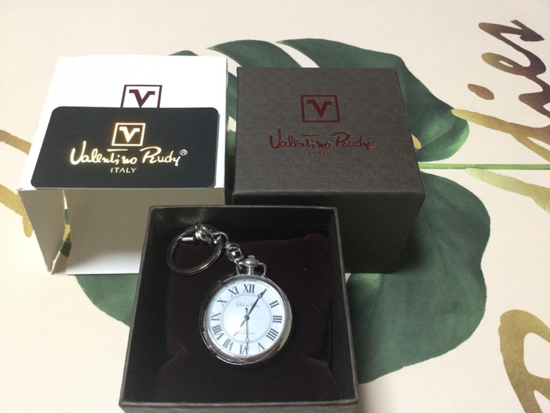 새상품)발렌티노루디 회중시계 키홀더