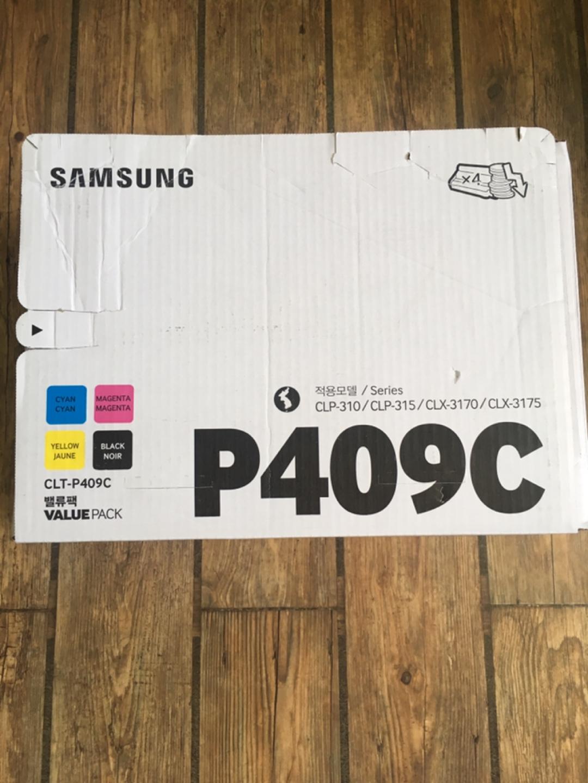 삼성 프린터 잉크 세트 P409C (정품)