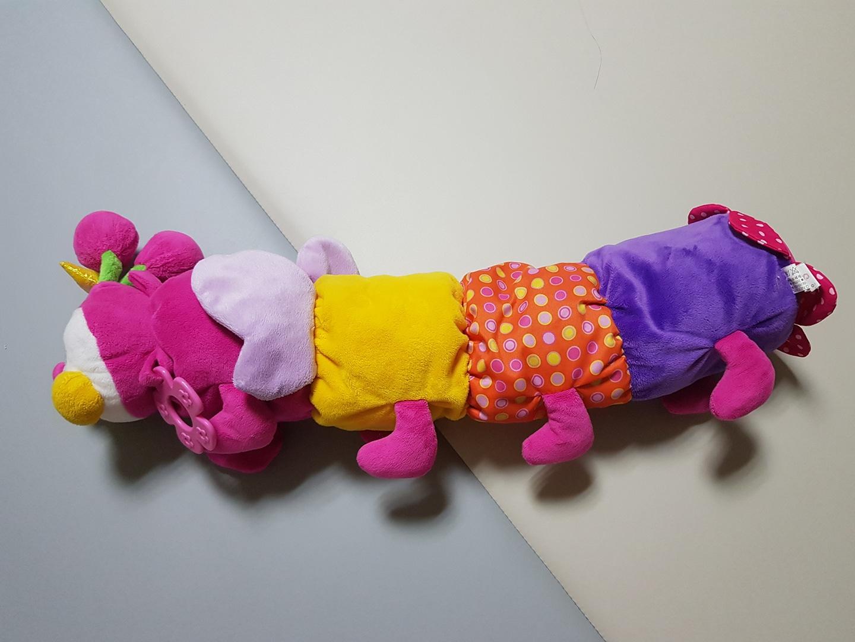 국민 애벌레인형 아기장난감