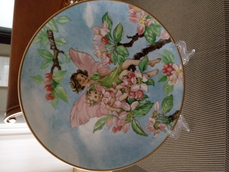 빌레로이 꽃요정 장식접시(20cm)