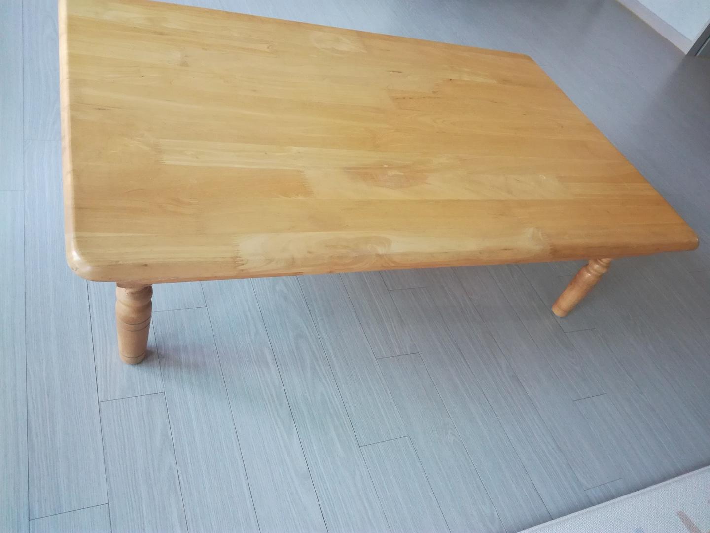 원목 접이식 테이블/ 좌탁/ 1만5천원