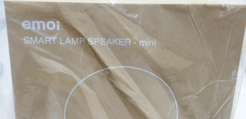 EMOI 블루투스 램프 스피커 개봉 안함