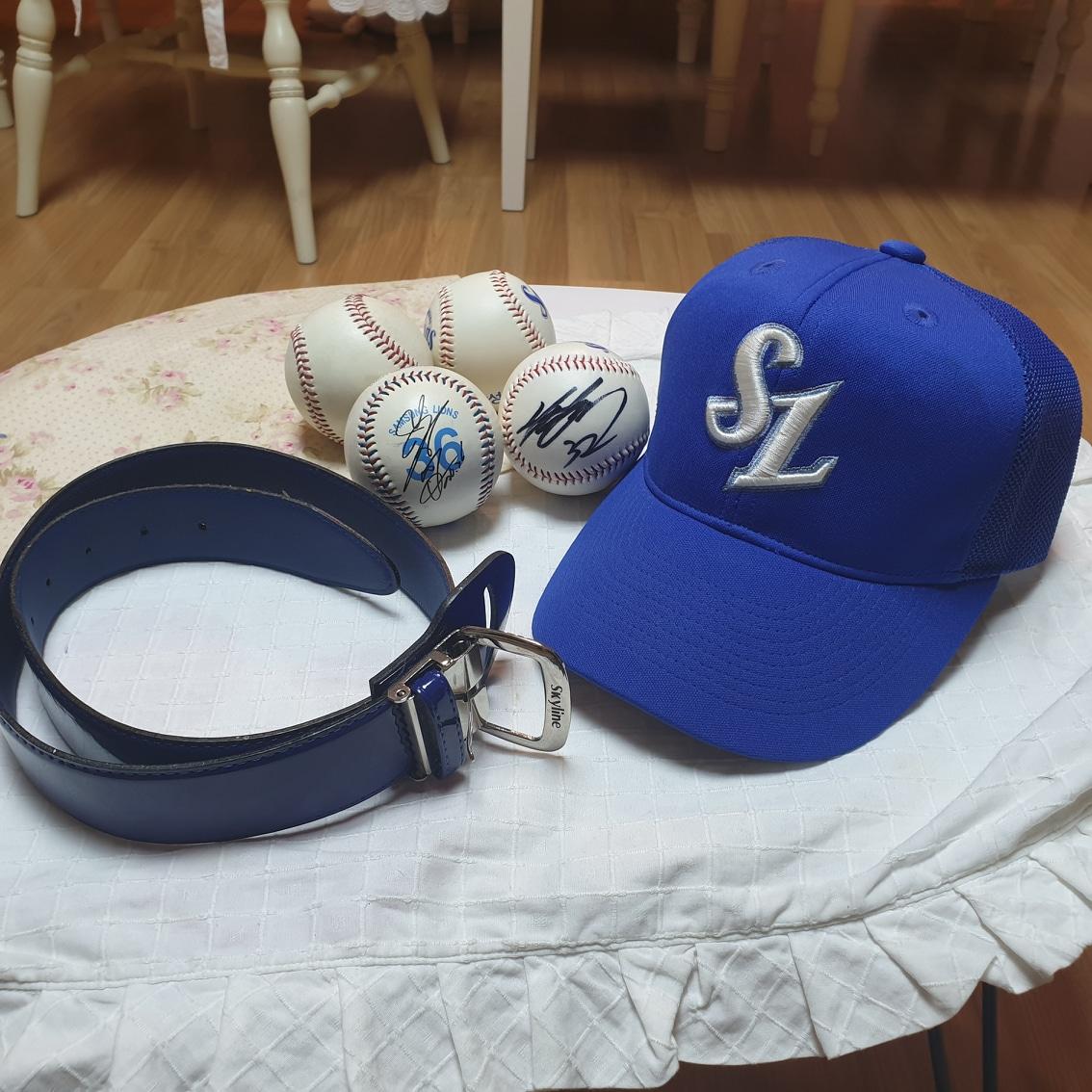 야구 모자&야구벨트&야구볼