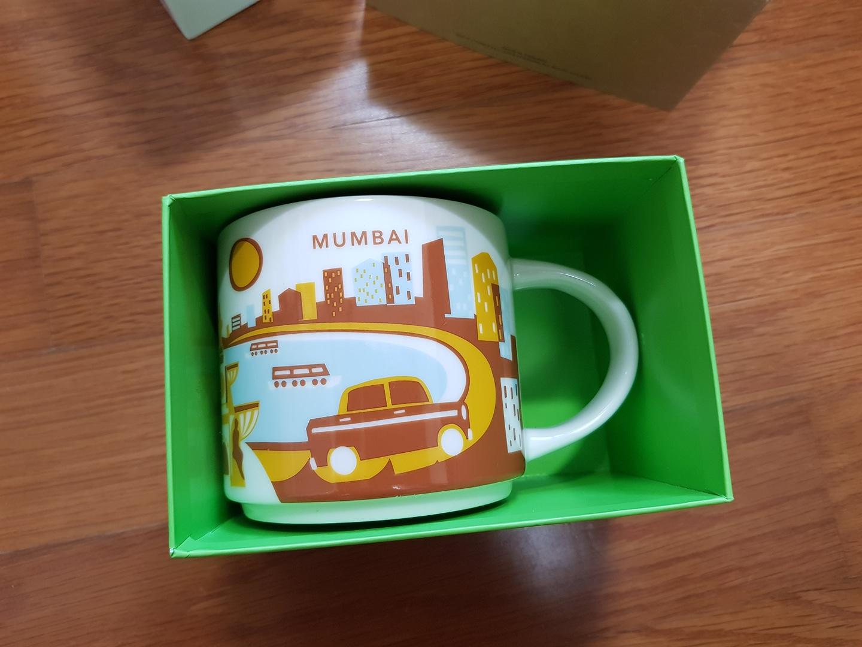 [가격내림]스타벅스 yah시리즈 뭄바이 판매합니다