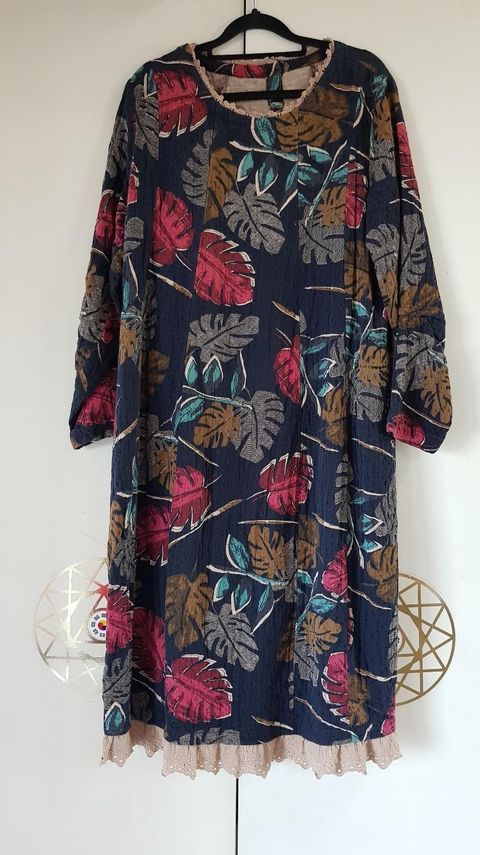 긴팔 롱 원피스 스커트 긴 치마 여성 용 생활복 생활한복 전통옷 민속 옷 여자