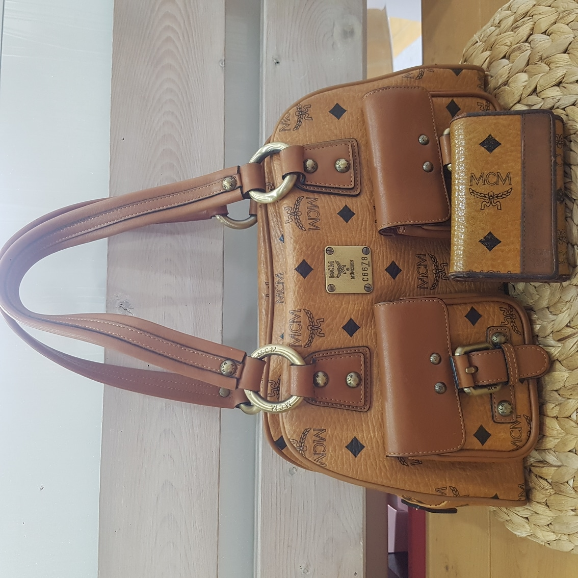 엠비씨가방+키지갑세트