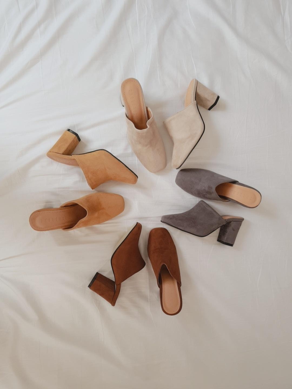 여자 편한 슈즈 블로퍼 신발