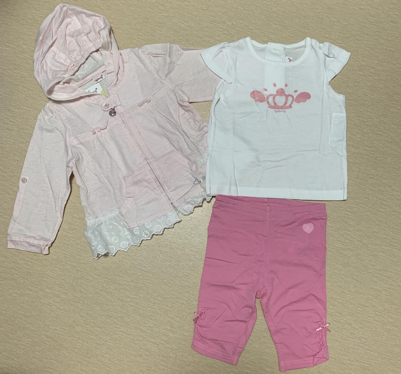 아기옷 여아옷 외출복 상하복 판매해요.