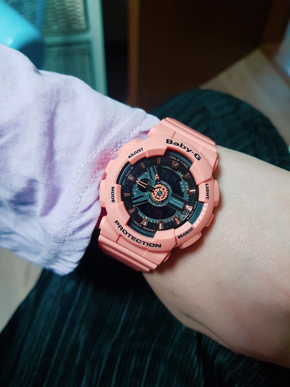 casio 핑크 시계 카시오 시계