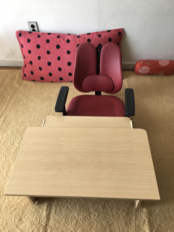좌식책상(의자포함)