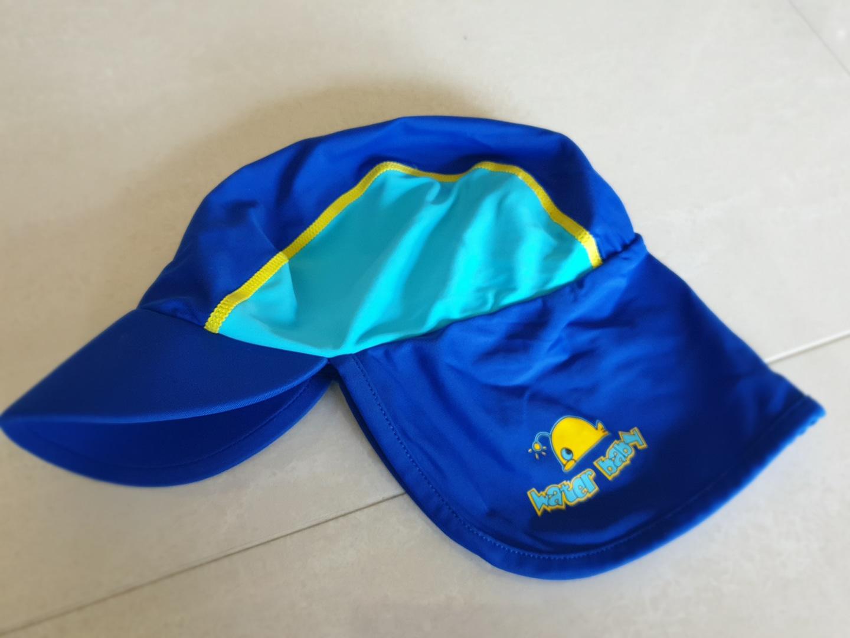 유아 수영모자 플랩캡 UV 자외서차단 기본 수영모자
