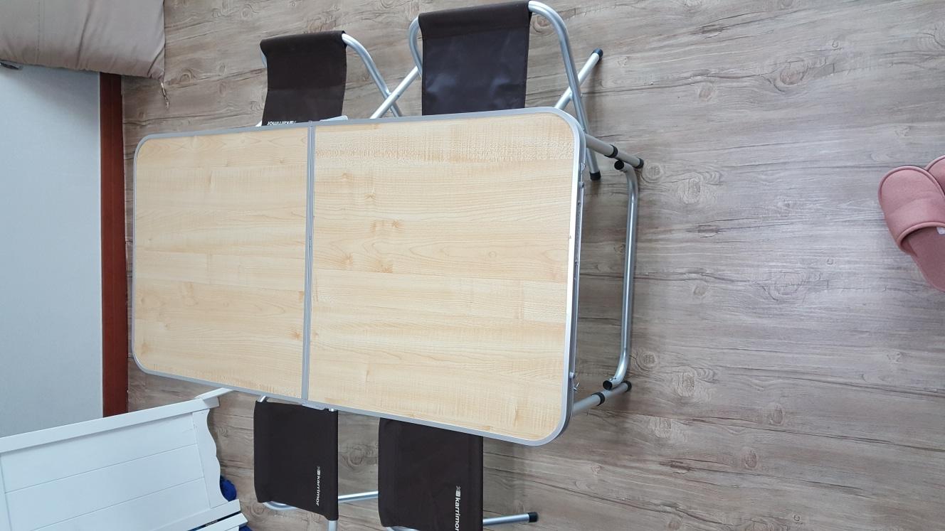 캠핑 탁자의자셋트