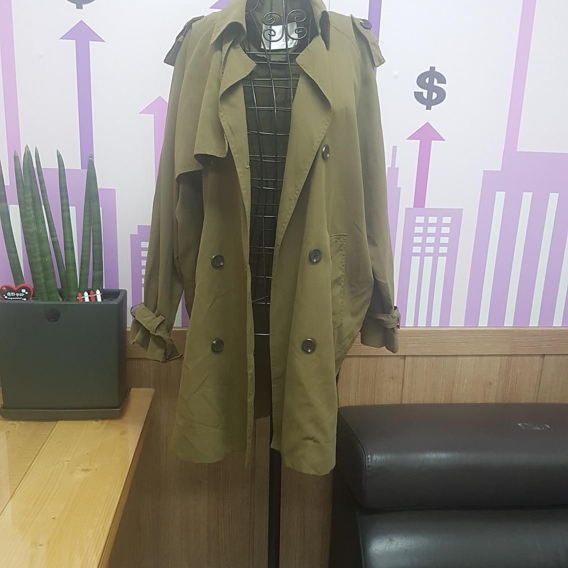 여성 간절기 자켓66.77(새옷)