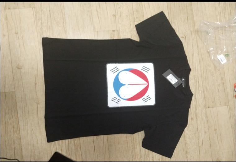 (새제품) 무스** Moose st. 반팔 티셔츠 L(100)