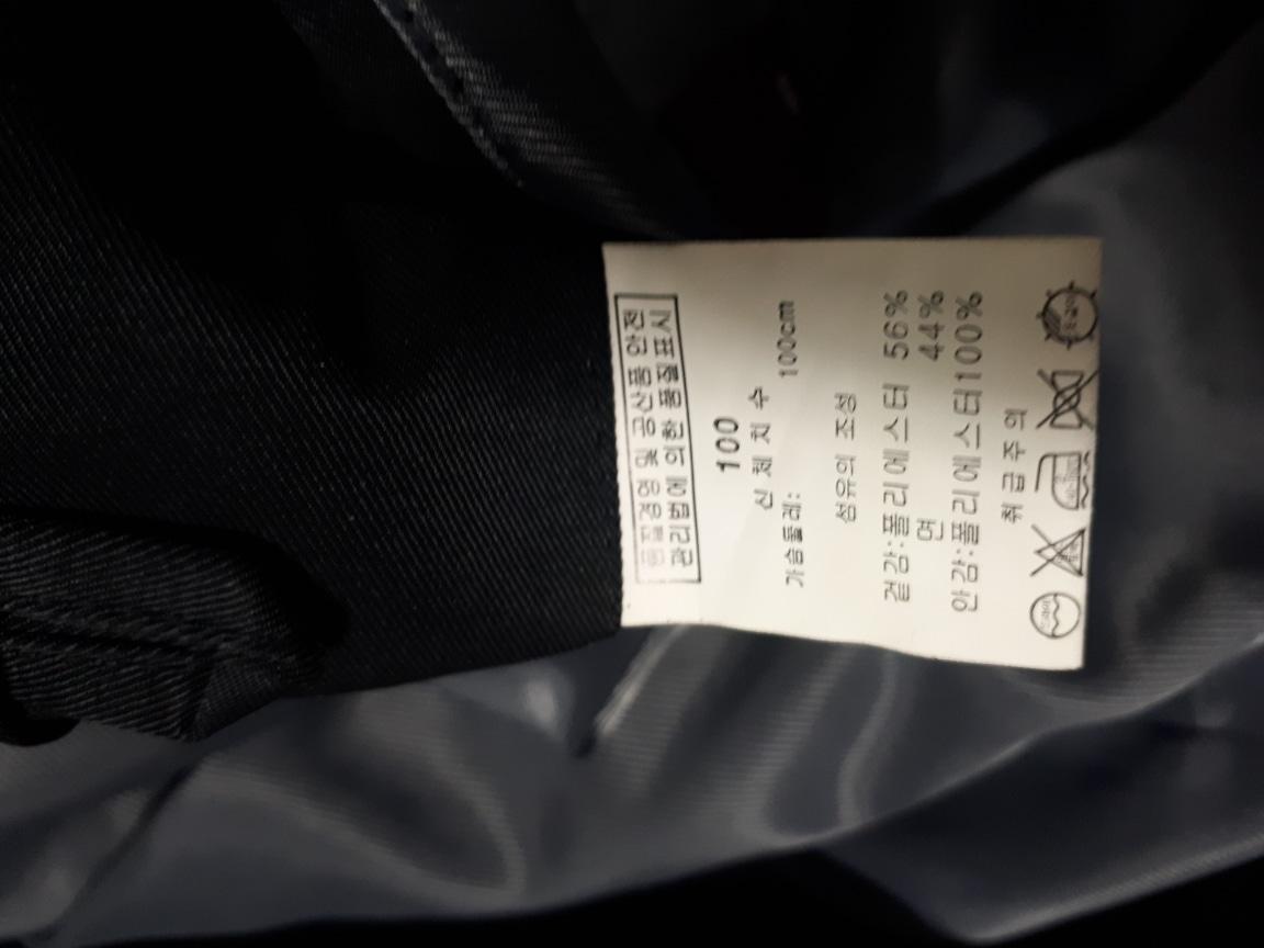 남성캐쥬얼 자켓100ㆍL사이즈