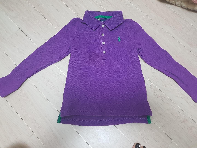 [옷장대방출] 폴로 여아 티셔츠 4T