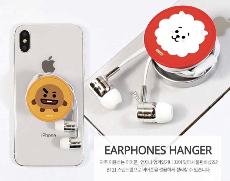 방탄소년단 캐릭터 핸드폰 그립톡(새거)