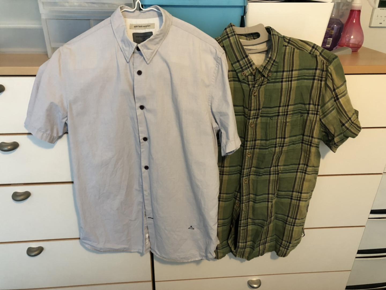시리즈 남성 셔츠 105사이즈 2장