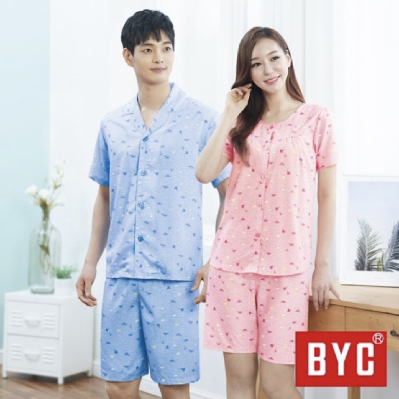 레이온 100%  커플 여름 잠옷 세트(새상품)