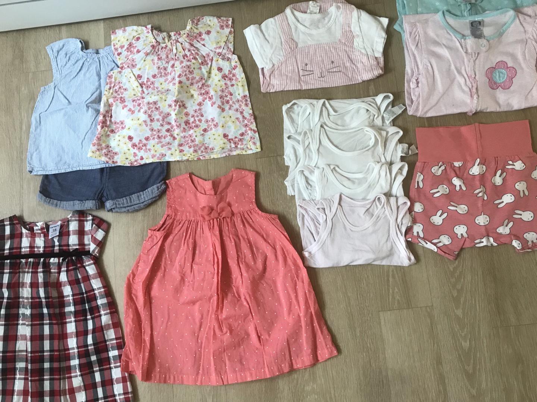 아기옷 일괄판매